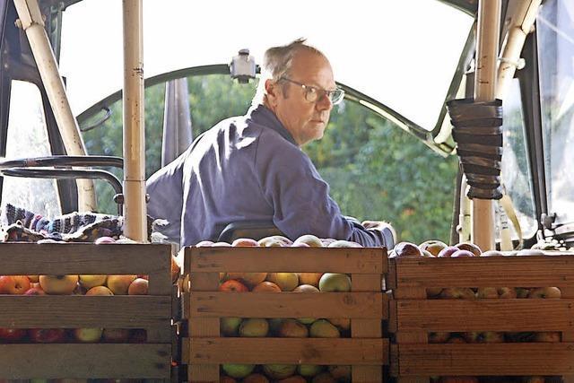 Saft aus sonnenverwöhnten Äpfeln