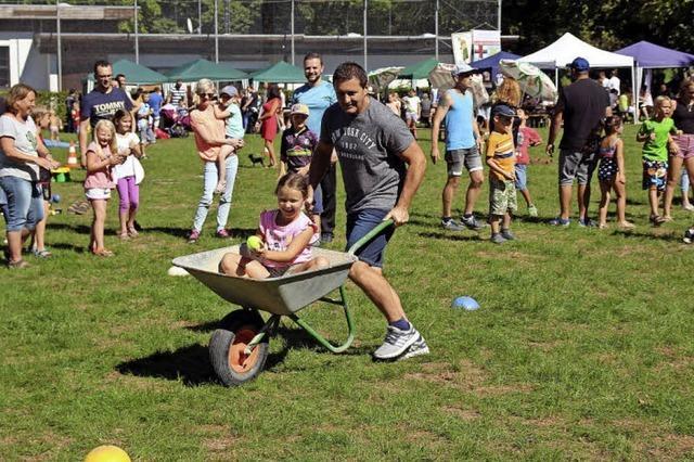 Kinderfest in Landwasser