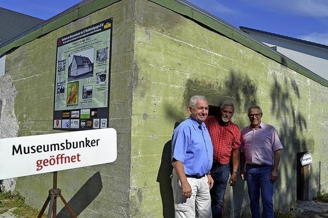 Bunker soll Tarnung zurückbekommen