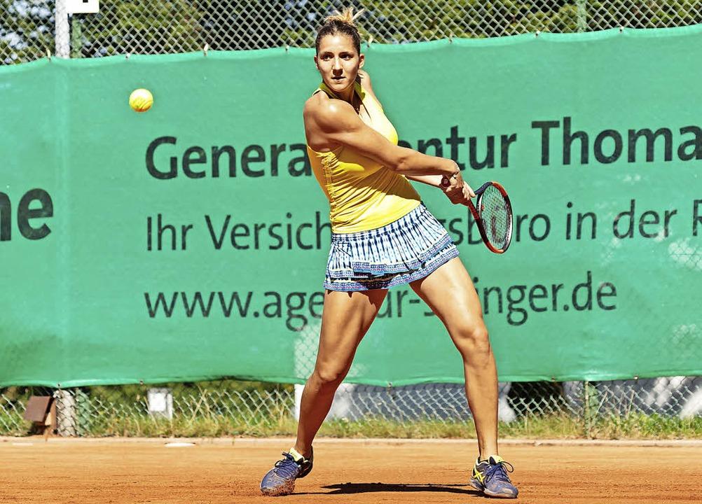 Durchschlagender Erfolg: Die Spanierin Rebeka Masarova gewinnt in Badenweiler.   | Foto: Eyecatcher Fotodesign