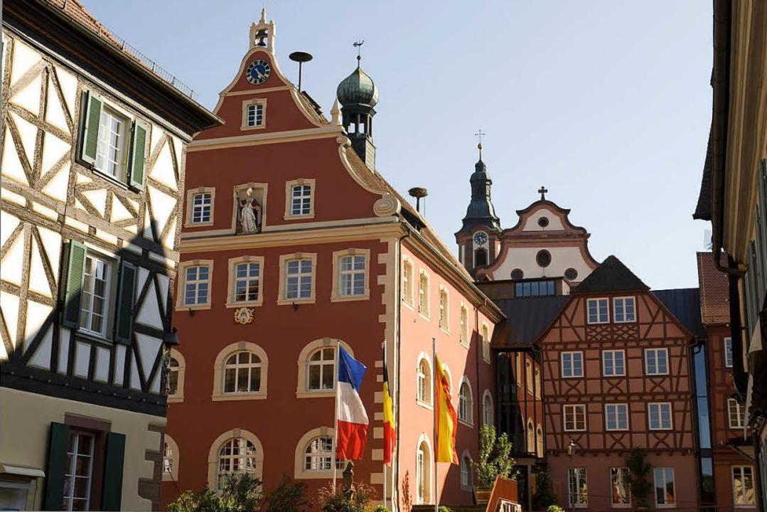 Wer zieht ins Rathaus ein?    Foto: Stadt Ettenheim