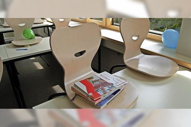 Erster Schultag in sanierten Klassenräumen