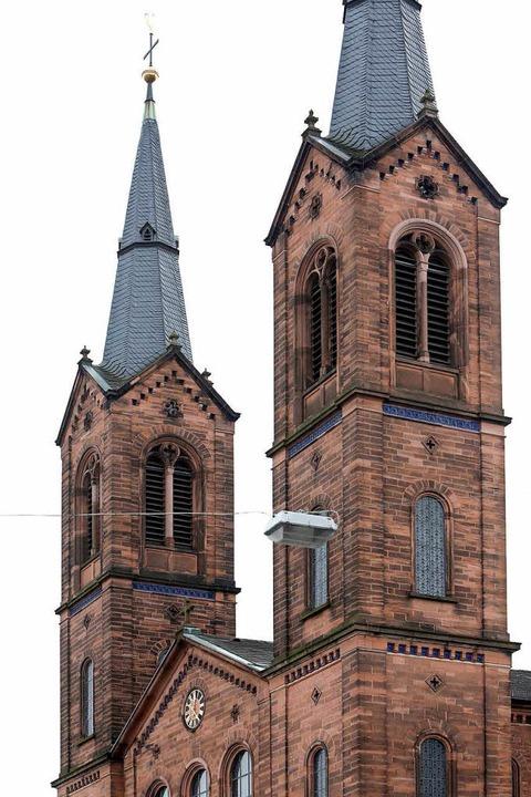Die katholische Kirche Peter und Paul in Lahr  | Foto: Christoph Breithaupt
