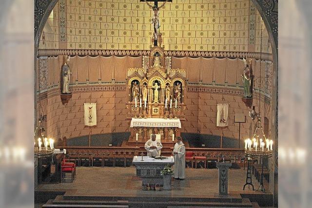 Eucharistiefeier und ein gemütliches Fest