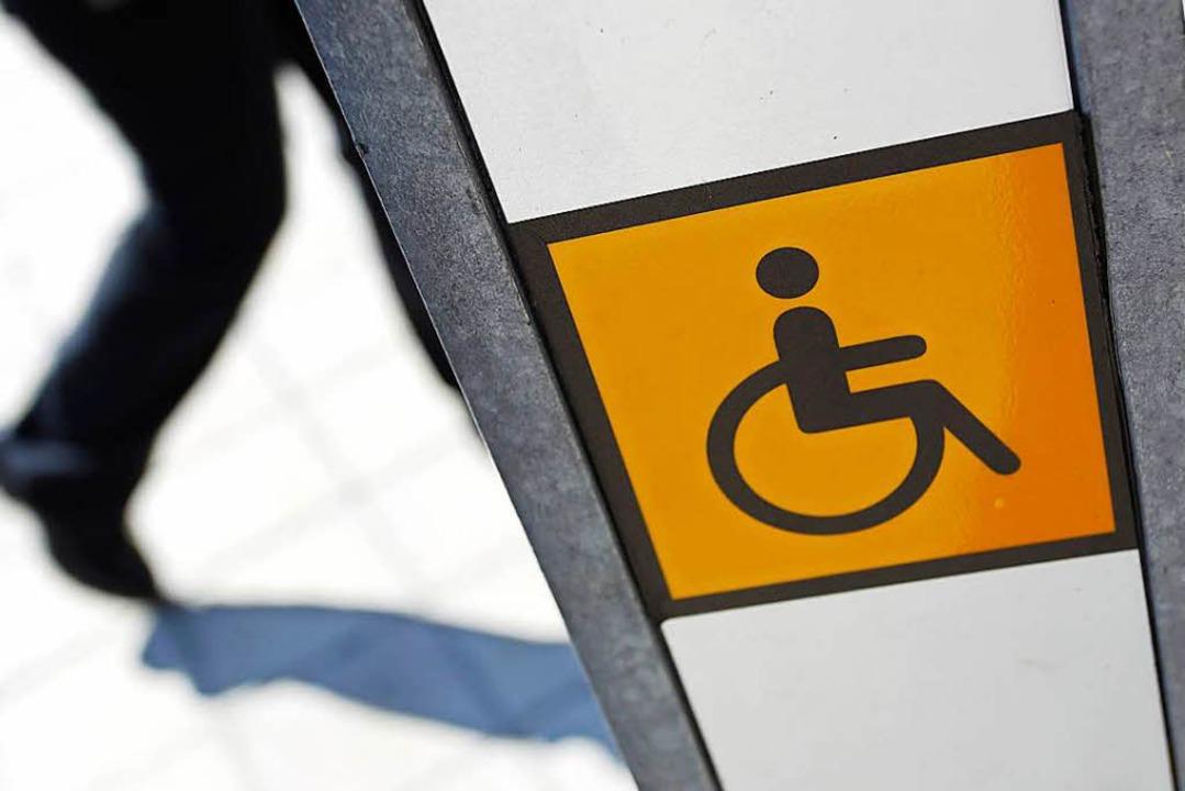 Aufs körperliche Handicap reduziert?  | Foto: Karl-Josef Hildenbrand
