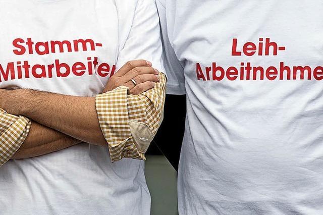 Mehr als eine Million Leiharbeiter in Deutschland