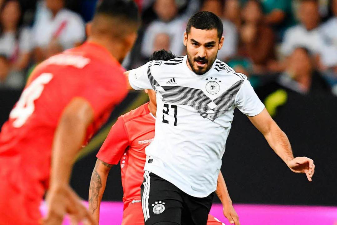 In der Nationalmannschaft wieder ins Laufen gekommen: Ilkay Gündogan    Foto: dpa