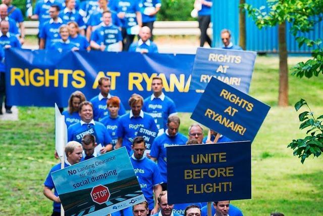 Deutsches Ryanair-Personal will am Mittwoch streiken