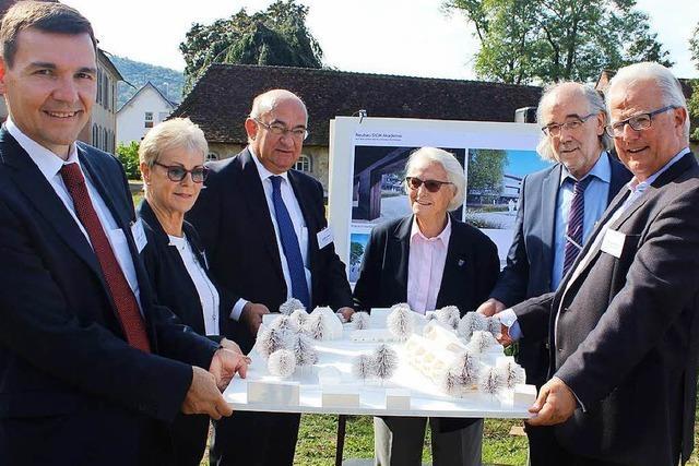 Die Sick AG baut ein Schulungszentrum im Waldkircher Schlosspark