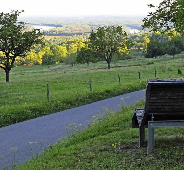 Schöne Aussichtspunkte, an denen man i... Aussichtsruhebank steht dort bereits.  | Foto: Jutta Schütz/wirth-Baustatik