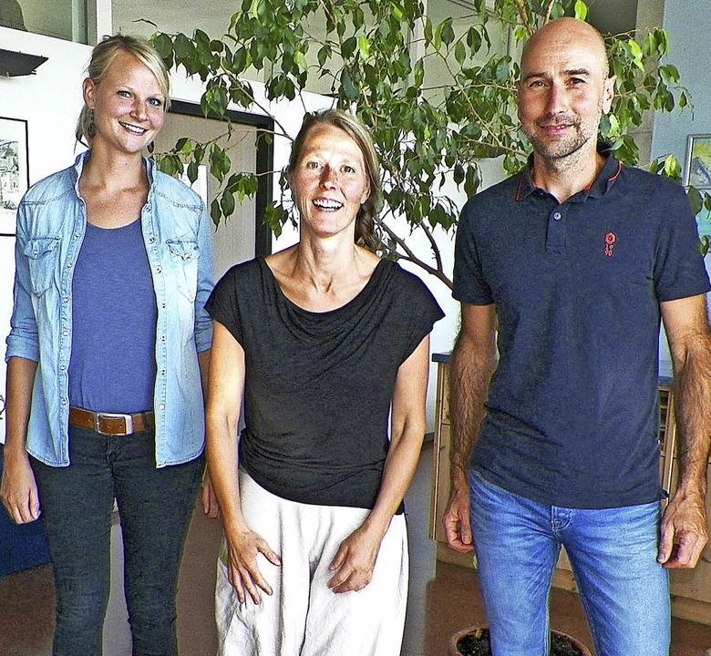 Als neue Lehrkräfte beginnen in diesem...aufbahn an der Realschule Stühlingen.   | Foto: Angela Böhrer
