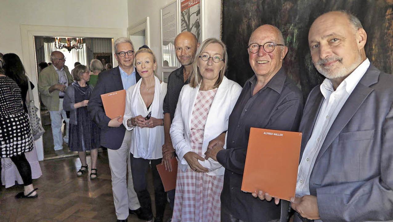Ein Thema, drei Ausstellungen, unzähli...ter des Ehepaars Haller) und Jan Merk   | Foto: dorothee Philipp