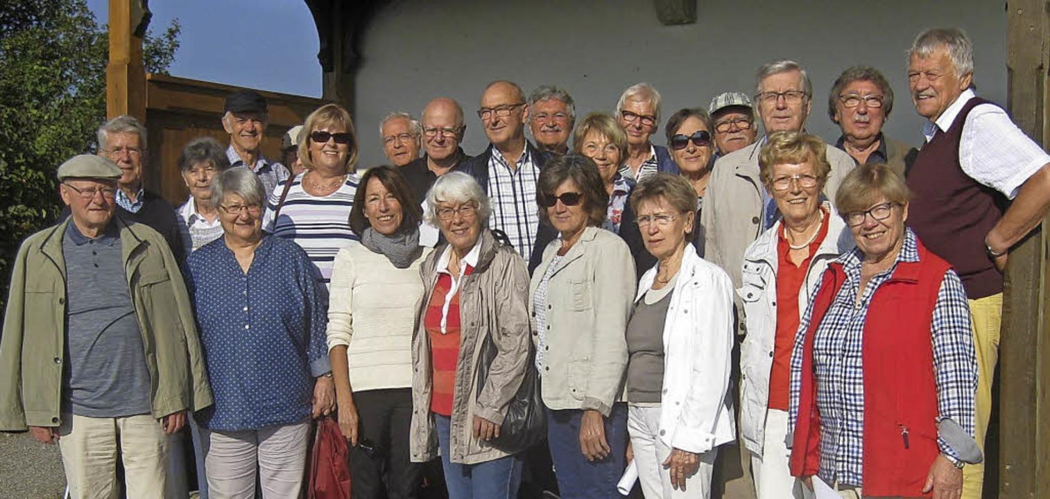 Die Pensionäre des Ettenheimer Gymnasiums waren auf Jahresausflug.      Foto: Privat