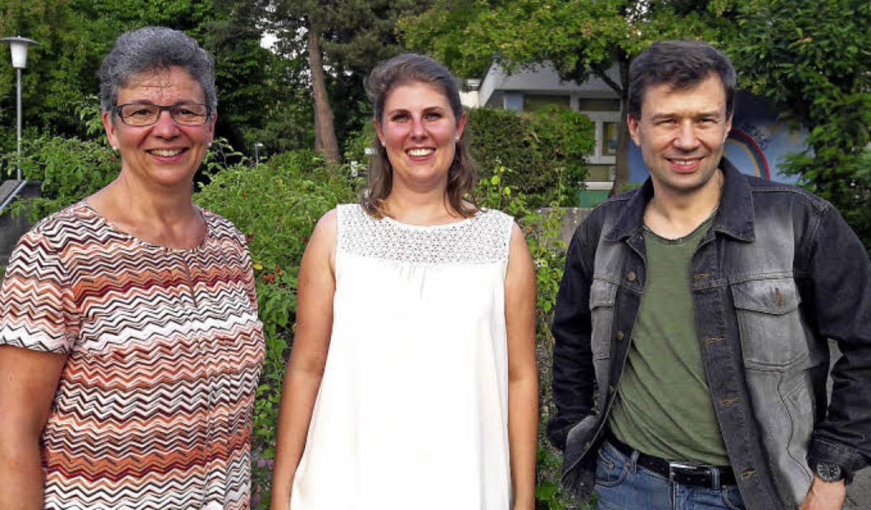 Der neue Vorstand der CDU Weingarten (...ner, Anna-Lena Frangen, Peter Kaiser.   | Foto: Hans Sigmund