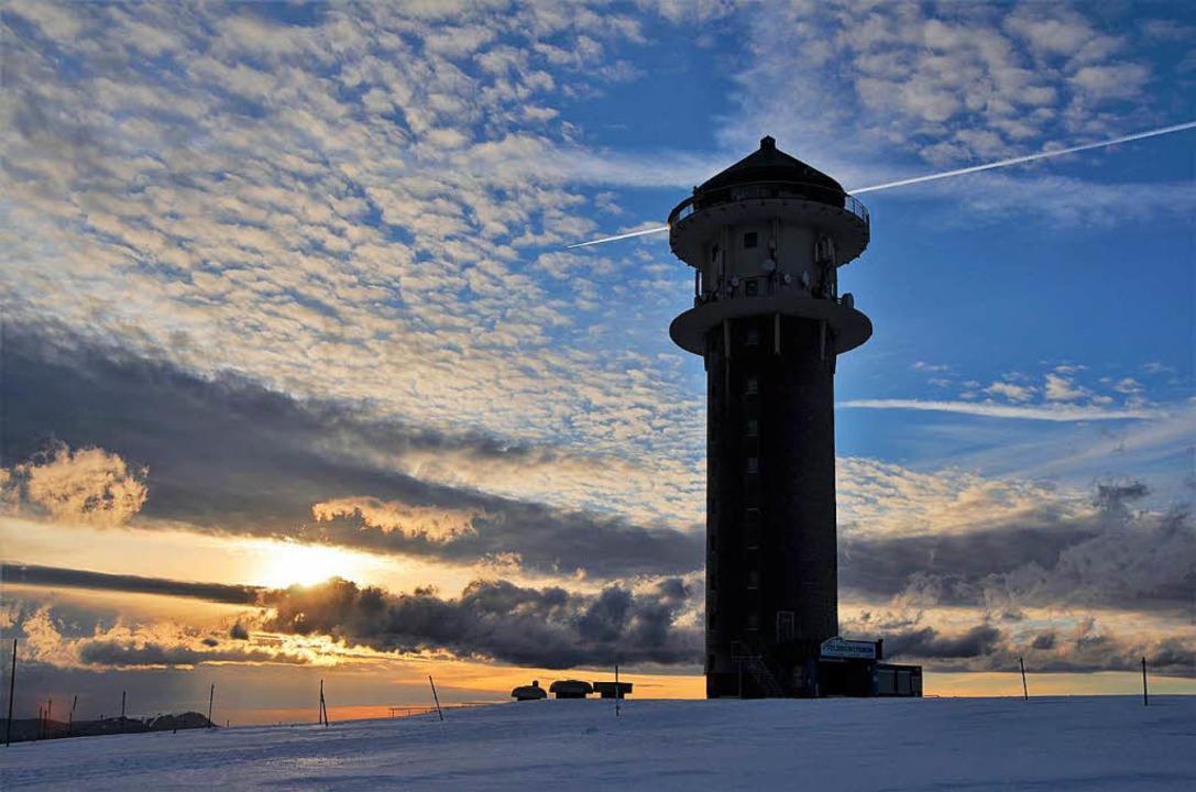 Der Förderverein diskutiert darüber, o...ergturm nachts beleuchtet werden soll.  | Foto: Kathrin Blum