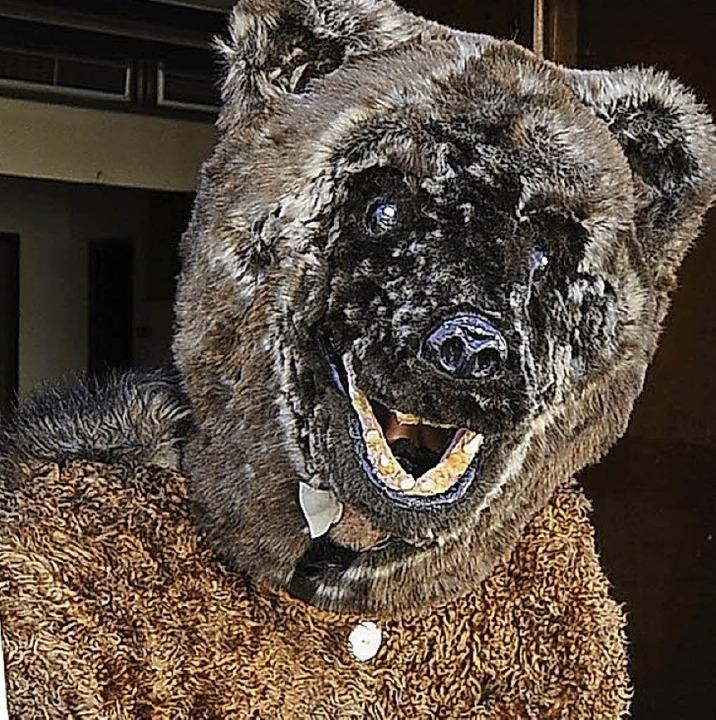 Auch ein Bärenkostüm schützt in der Narretei vor Torheit nicht<ppp></ppp>   | Foto: Ingo Schneider