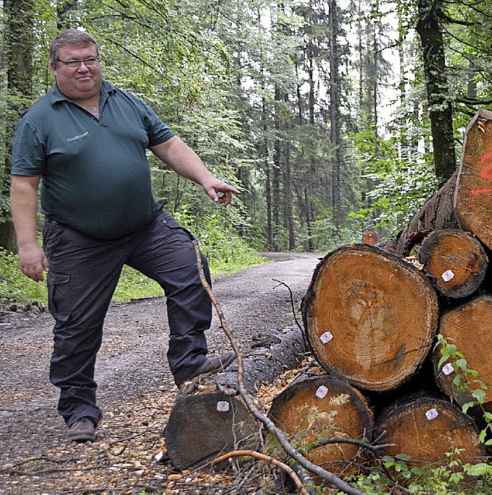 Forstrevierleiter Thomas Hirner  | Foto: Horatio Gollin