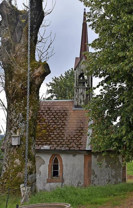 Ein bisschen versteckt liegt die Kapelle am Hohwarthof.  | Foto: Thomas Biniossek