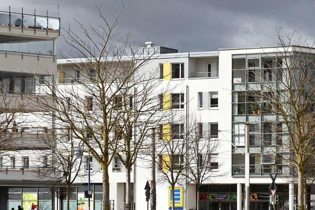 Wohnungen im Freiburger Stadtteil Rieselfeld  | Foto: Rita Eggstein