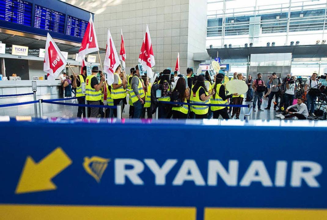 Deutsche Ryanair-Mitarbeiter starten Streik –  150 Flugausfälle  | Foto: dpa