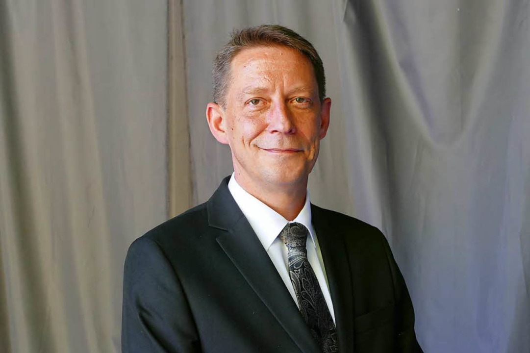Ralf Özkara, Co-Landessprecher  der Af...er Oberbürgermeisterwahl in Offenburg.  | Foto: Ralf Burgmaier