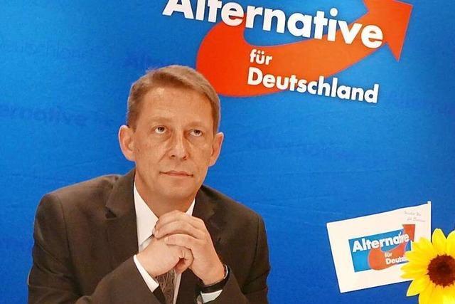 AfD-Landeschef Ralf Özkara tritt bei OB-Wahl in Offenburg an