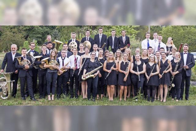 Verbandsjugendorchester des Alemannischen Musikverbands spielt in der Stadthalle Schopfheim