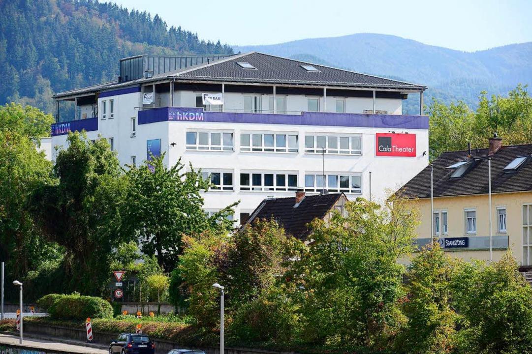 Die hKDM in der Haslacher Straße ist a... 1. Oktober die Hochschule Macromedia.  | Foto: Ingo Schneider