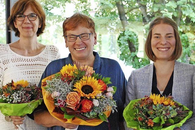 Rosemarie Weber wurde nach 33 Jahren als Emmendinger Bibliotheksleiterin verabschiedet