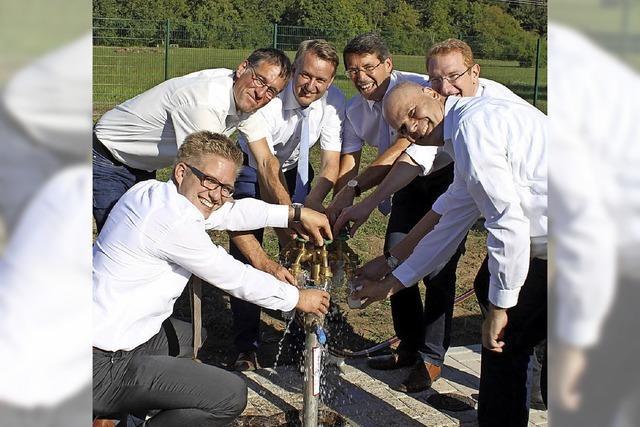 Trinkwasser kommt aus 32 Metern Tiefe der Elzwiesen