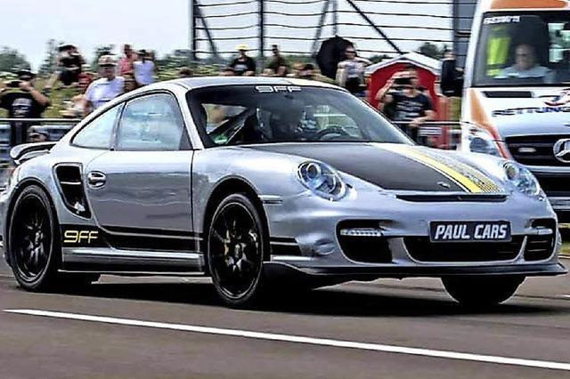 Ein Porsche 9FF will den Weltrekord knacken
