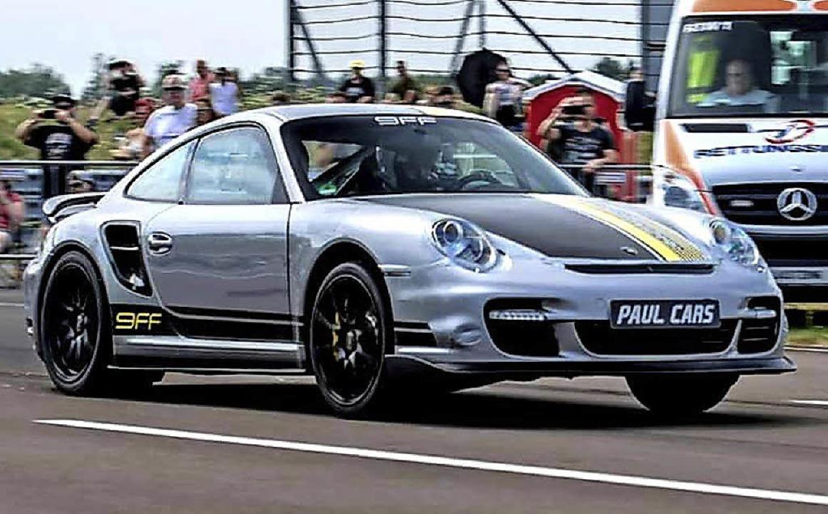 Dieser  Porsche 9FF mit mehr als  1500...e von  359 Stundenkilometern knacken.   | Foto: Veranstalter