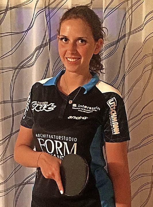 Neu in der ersten Damenmannschaft der ...nisfreunde Stühlingen ist Jasmin Wolf.  | Foto:  Tischtennisfreunde Stühlingen