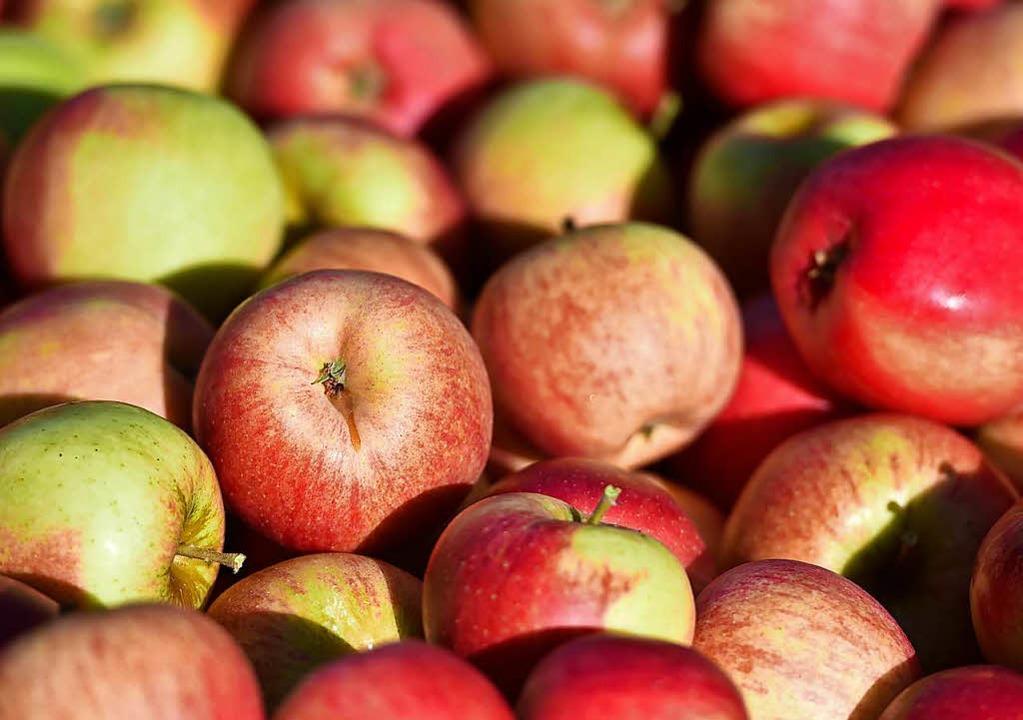 Lecker! Äpfel direkt vom Hof  | Foto: dpa