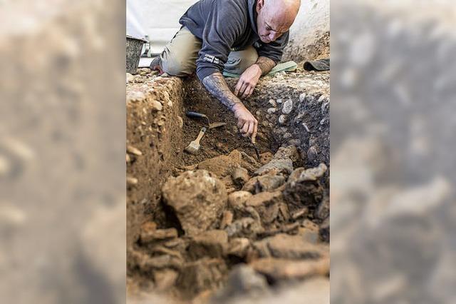 Bronzezeitliche Siedlung in Riehen entdeckt