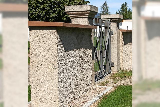 Sanierung der Mauer geht weiter