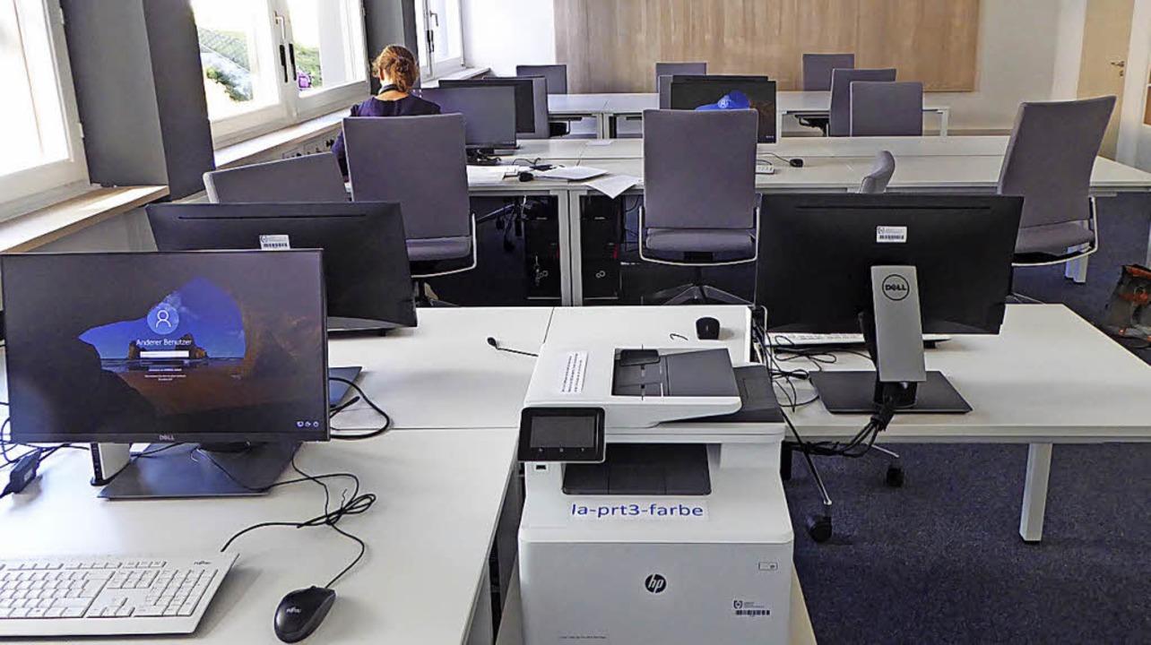 Ans Lehrerzimmer anschließend gibt es ...ertes Arbeiten und Teambesprechungen.   | Foto: HTS/ Peter Stellmach