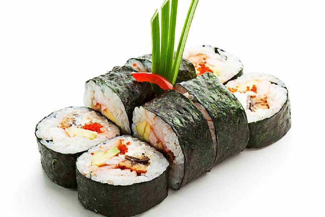 Auch für Sushi wird oft Aal verwendet.  | Foto: Boris Ryzhkov / fotolia.com