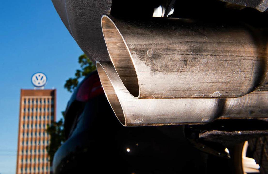 Der VW-Konzern muss sich de Schadenersatzklage stellen.  | Foto: dpa