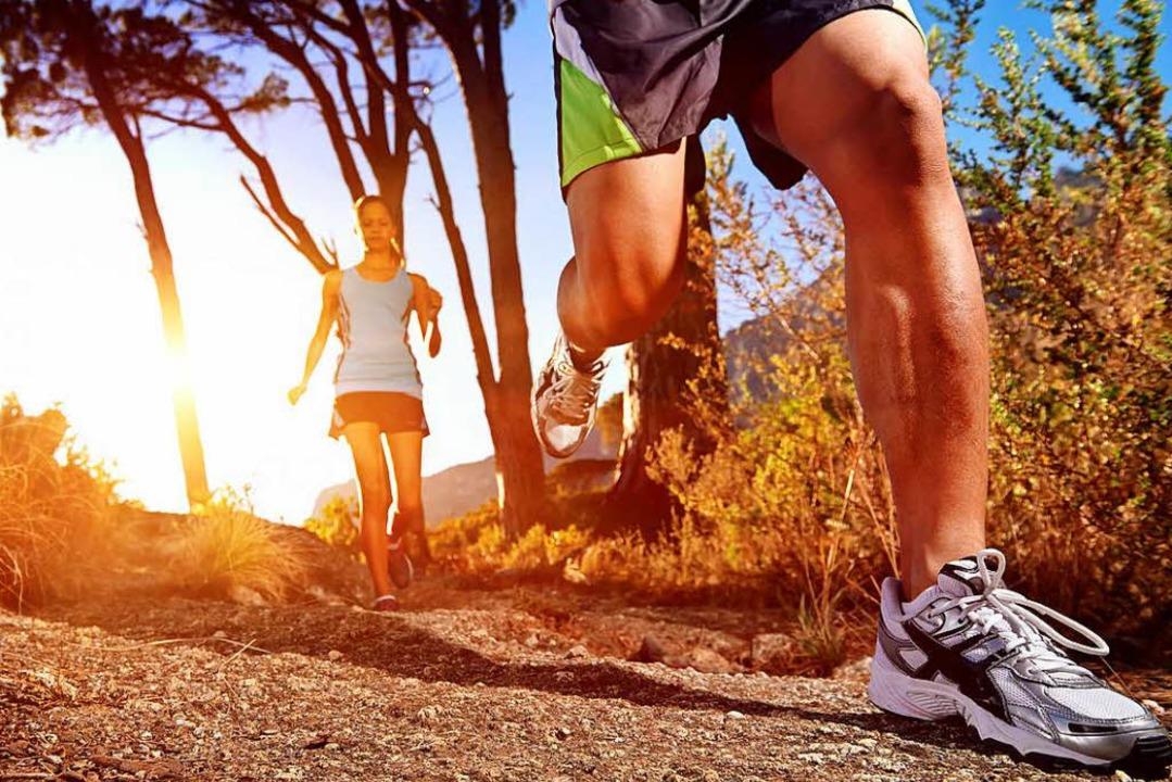 180 Schritte pro Minute lautet das Erfolgsrezept beim Slow-Joggen  | Foto: WARREN GOLDSWAIN