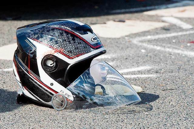 Motorradfahrer in Weil am Rhein bei Unfall schwer verletzt
