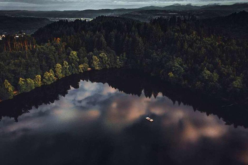 Bergsee Wolkenreflexion (Bad Säckingen) (Foto: Fabio Ragusa)