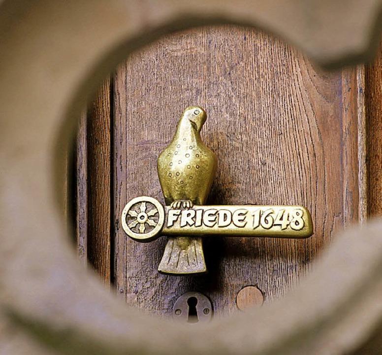 Friede!  | Foto: Bernd F. Meier