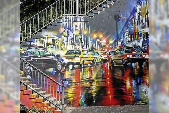 Fluchtpunkt: Graffiti-Galerie