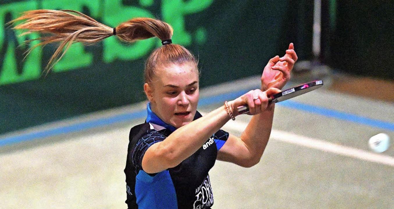 Rasant, dynamisch, spannend: Frauen-Ti...lingen, hier Celine Schädler in Aktion  | Foto: W. Scheu
