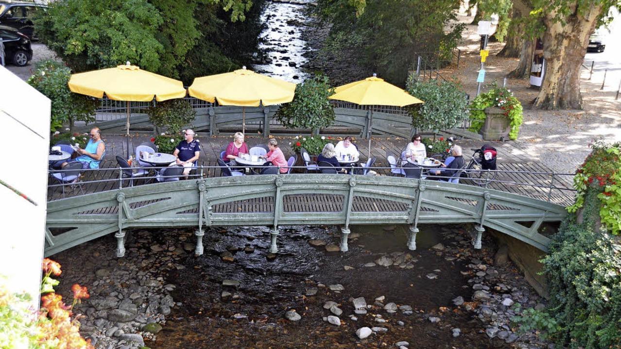 Die Brücke beim Café Decker soll saniert werden.   | Foto: Rainer Ruther
