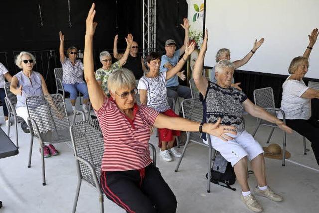 Senioren bleiben in Bewegung