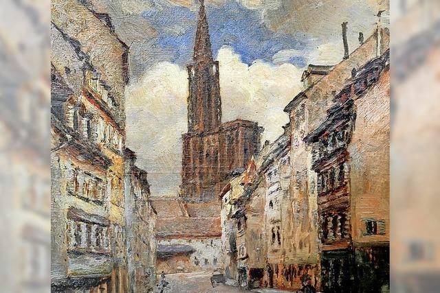 Zwei Künstler sehen Straßburg