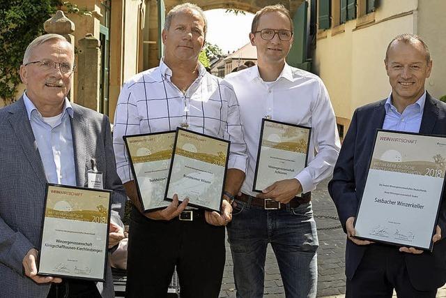 Auszeichnungen für Kaiserstühler WGs