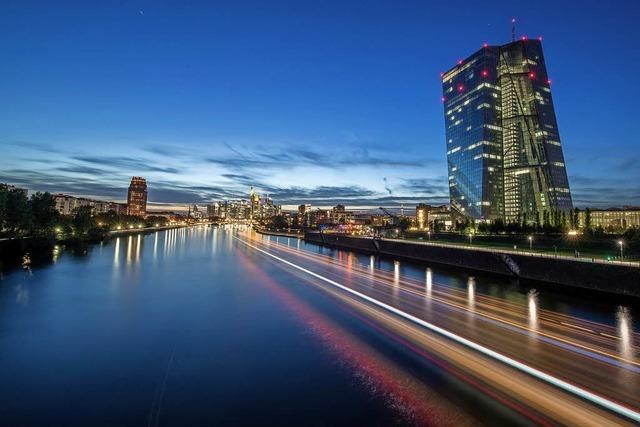 EZB dreht den Geldhahn zu